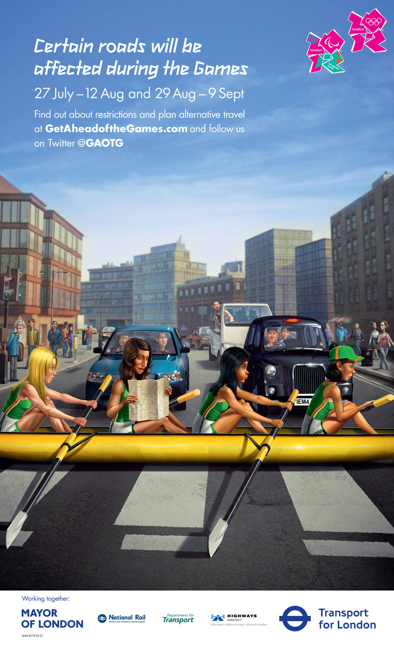 Steve Chappell Olympics 2012 Poster 1