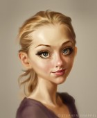 Female Character Digital Painting.