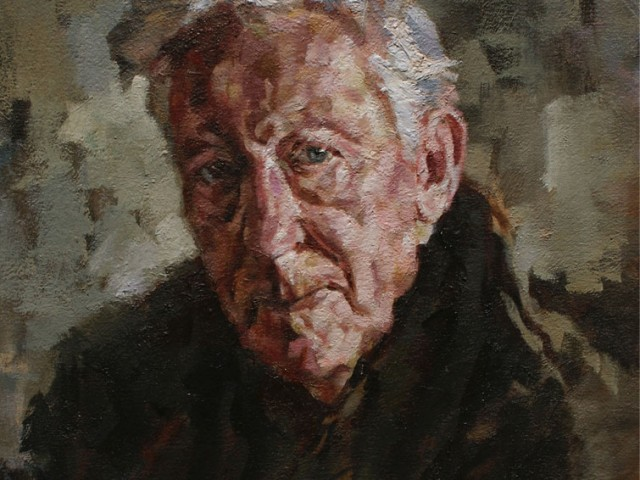Ron. 2012. Oil on canvas