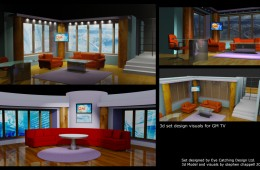 3d visual for GMTV