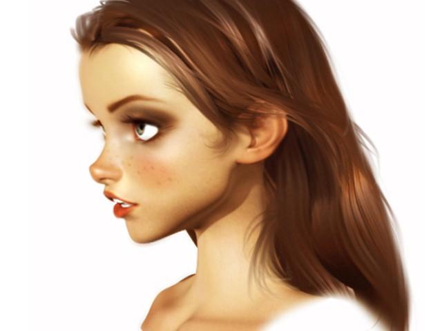 3d Girl (WIP)