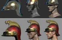 Imperial Guard Cuirassier Helmet (WIP)