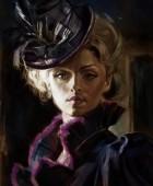 Victorian Lady Sketch