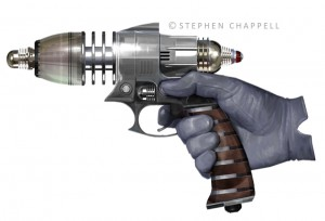 stephen-chappell-Retro-Ray-Gun-paint640