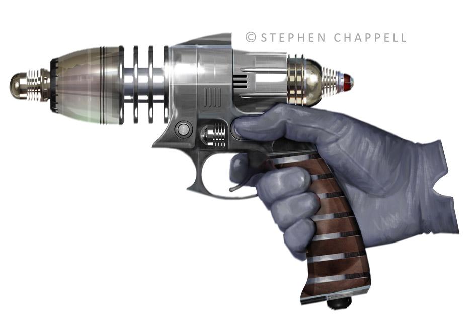 stephen-chappell-Retro-Ray-Gun-paint640