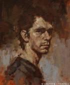Ben Wishaw, Acrylic.