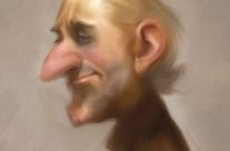 Digital Character sketch x4