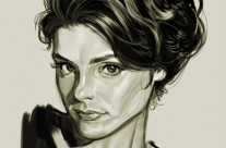 Charlotte Digital Painting Sketch