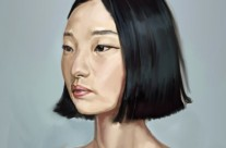 Oriental Woman sketch