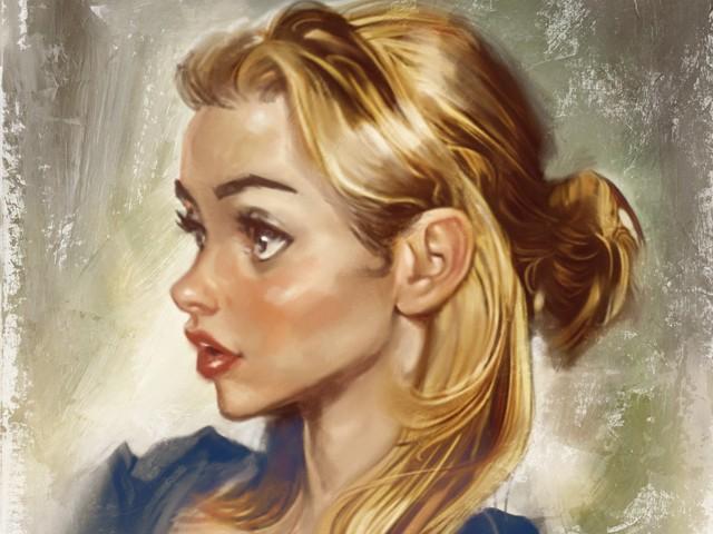 Blonde Sketch