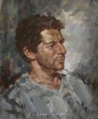 Nik. Acrylic Portrait 42cm x 50cm