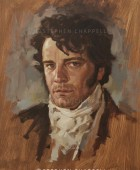 Mr Darcy Colin Firth portrait in oils